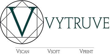 logo vytruve, solution de conception et d'impression 3d des prothèses pour les personnes amputés au niveau des jambes, fémoral ou tibial
